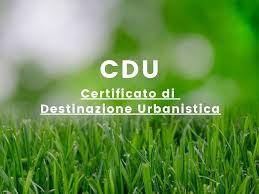 Certificato  di  Destinazione  Urbanistica